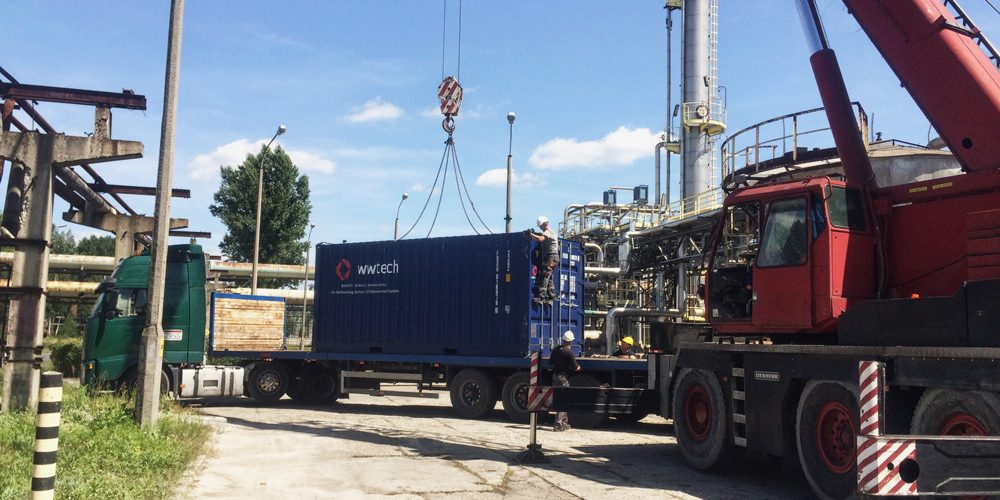 Modernization and repair on industrial installations for the chemical plants, meaning WWTECH Services as the only one  conducting the repair work in the Group ZAK Azoty Inc in Kędzierzyn