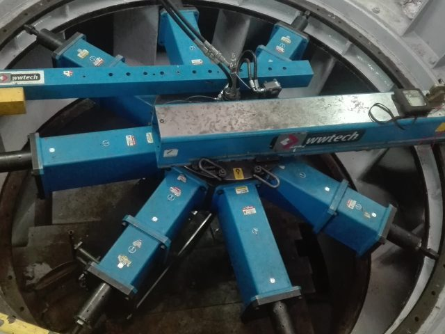 On-site machining in Hydropower plant