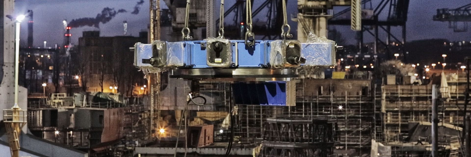 On site machining