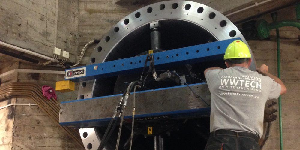 Making of cut-valve's machining