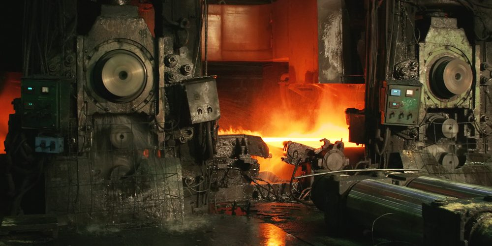Prace obróbczo-serwisowe (naprawa i modernizacja) na walcowni gorącej w hucie stali Makstil A.D. Duferco Group – Skopje, Macedonia