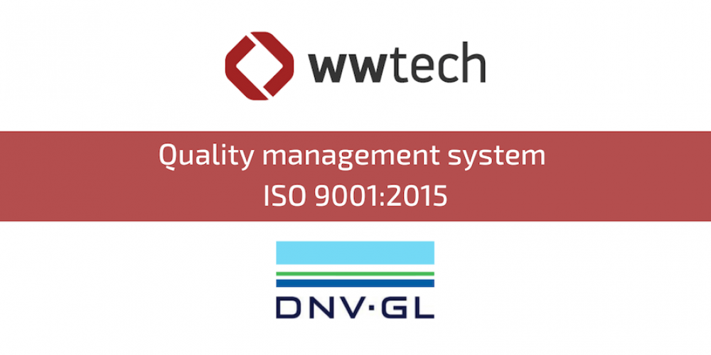 CERTIFICATE OF COMPLIANCE OF THE QUALITY MANAGEMENT SYSTEM WITH THE ISO 9001:2015 STANDARD