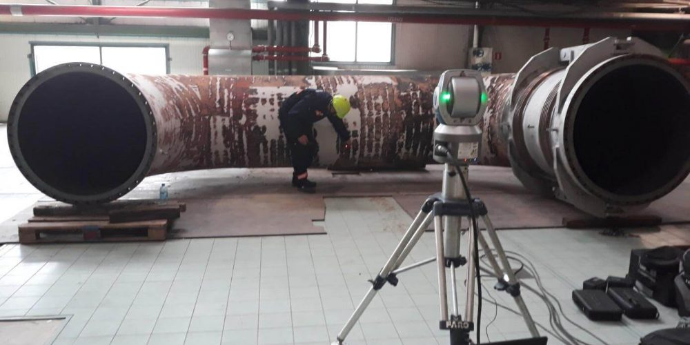 MODERNIZATION OF THE CROSS-OVER PIPE IN ONE OF THE LARGEST POLISH POWER PLANTS.