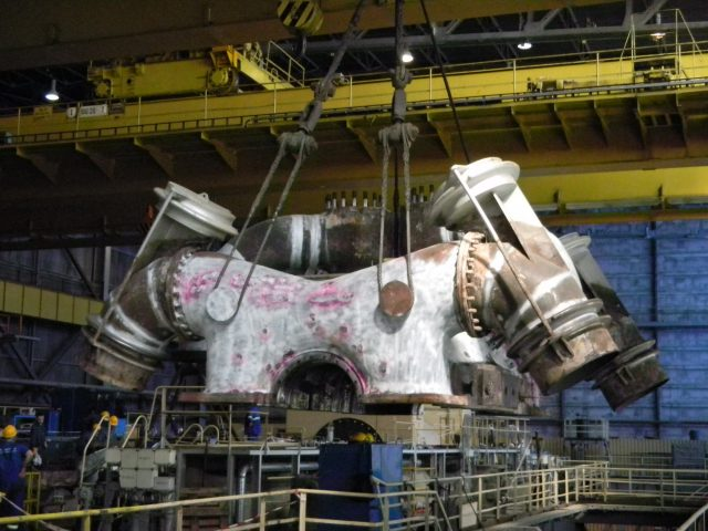 Modernisation of 560MW turboset in Kozienice PP