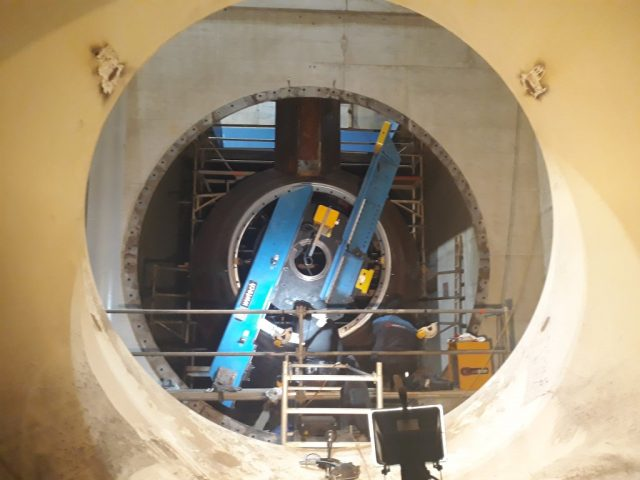 Elektrownia wodna Murkraftwerke Graz