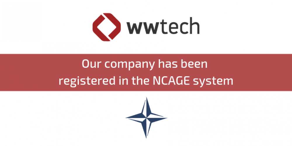 Our company has been registered in the NCAGE system