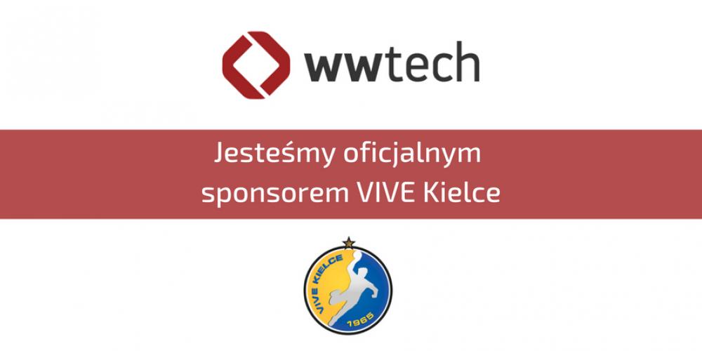 WWTECH oficjalnym sponsorem VIVE Kielce