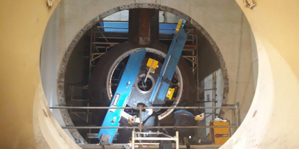 Hydropower Plant Murkraftwerke Graz