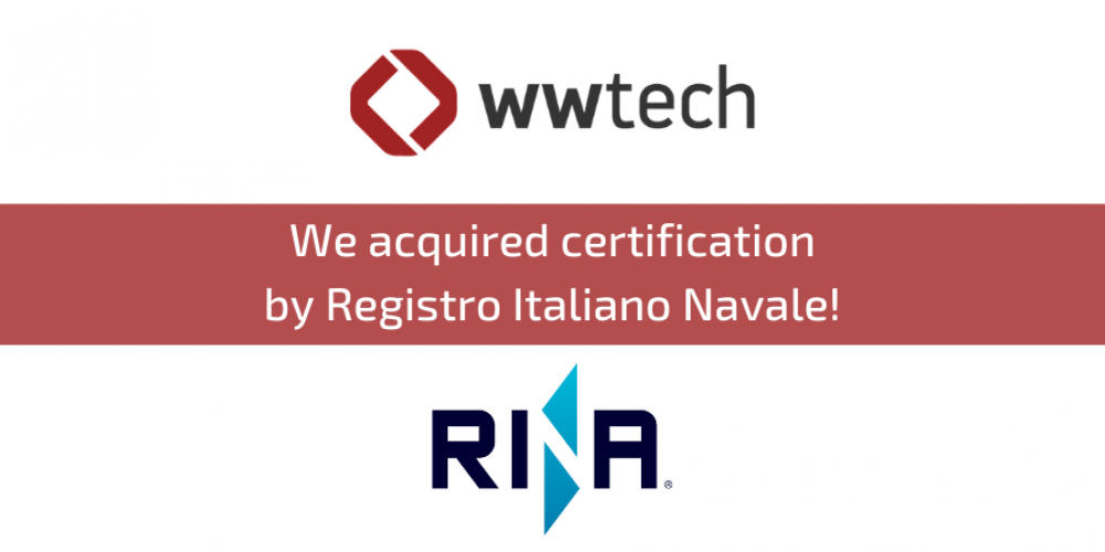 REGISTRO ITALIANO NAVALE – CERTIFICATION