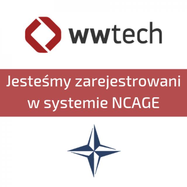Jesteśmy zarejestrowani w systemie NCAGE