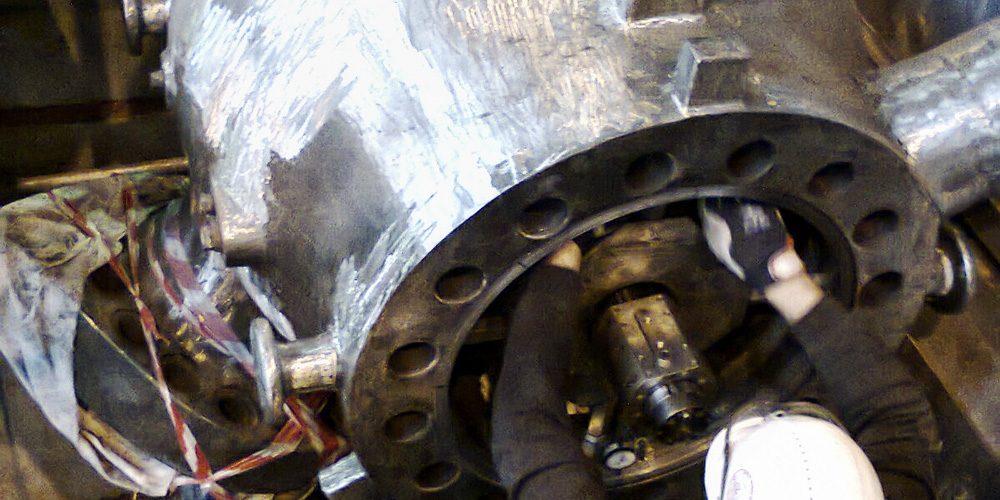 Nieszczelny zawór ciśnieniowy – naprawa zdegradowanych powierzchni i przywrócenie szczelności w korpusie
