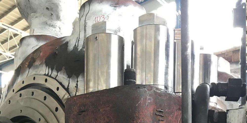 Modernization of the turbine casing screw connection Part 2