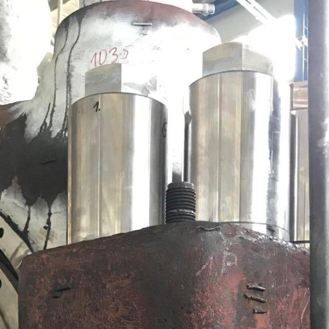 Modernizacja połączenia śrubowego kadłuba turbiny Część 2