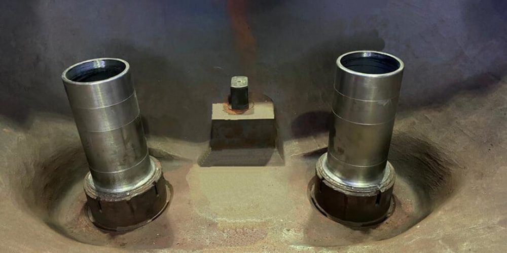 Regeneration of the telescopic connection