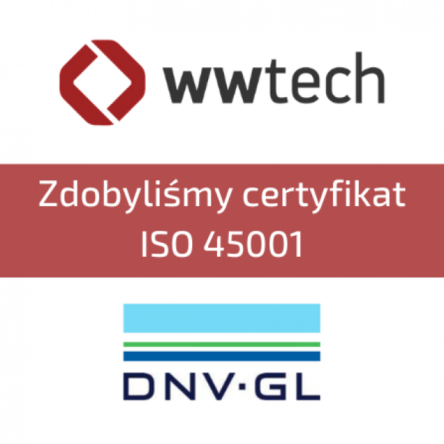 System Zarządzania Bezpieczeństwem i Higieną Pracy ISO45001